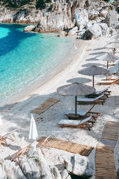 Greece Vacation, Greece Travel, Travel Aesthetic, Beach Aesthetic, Beautiful Places To Travel, Beautiful Beaches, Vacation Destinations, Dream Vacations, Places Around The World