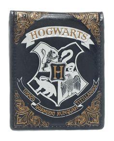 Harry Potter Geldbeutel Hogwarts Insignia  Harry Potter - Geldbeutel - Hadesflamme - Merchandise - Onlineshop für alles was das (Fan) Herz begehrt!