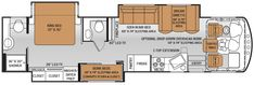 2 Bedroom 2 Bath 5th Wheels And Travel Trailers Rv