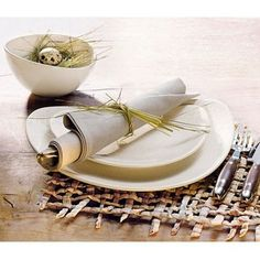 Assiette gourmet en grès