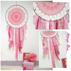 Attrape rêve pour décoration de chambre de fille, jeune femme, anniversaire, mariage, Noël