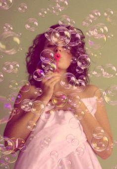 Bubbles, bubbles, bubbles!