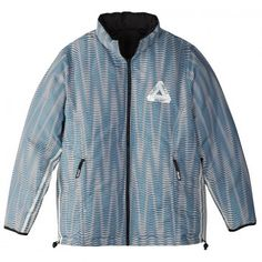 Palace x Adidas Reversible Down Jacket in Multi Colour / Black