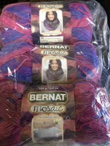 Bernat Mosaic Yarn Strange Magic - yarn giveaway on AllFreeCrochet!