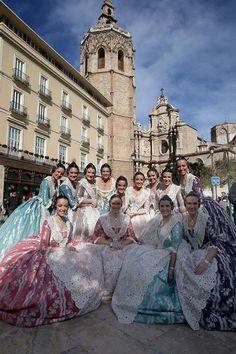 Fallas of Valencia, Spain..