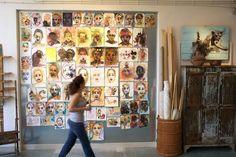 Julie Arphi's studio