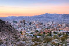 El Paso landscape