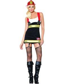 Backdraft Babe Firefighter Womens Costume