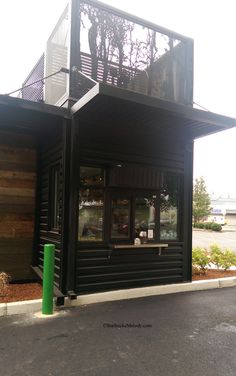 The New Woodburn Oregon Drive Thru Starbucks One Of Just
