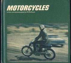 MOTORCYCLES BY ED RADLAUER 1970 JUVENILE READING   MOTORCYCLES RACING, MOTOCROSS