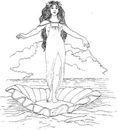 26 Best Greek God Dess Coloring Pages Images Coloring Pages