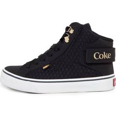 Tênis Coca Cola Shoes Envy Preto
