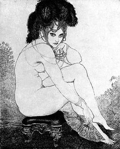 Art Sharing Norman Lindsay (traditional media painting & etching) - the eclectic ecstasy of an ecphorizing eccentric — LiveJournal Small Drawings, Art Drawings, Figure Drawing, Painting & Drawing, Life Drawing, Norman Lindsay, Sargent Art, Etching Prints, Black White