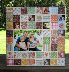 Family Canvas by Vicki Chrisman using Hopscotch for Fancy Pants Designs
