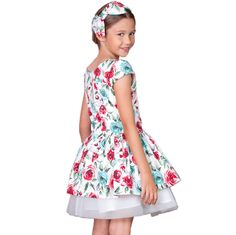 TRANDAFIRI SI TUL - ROCHITA ANIVERSARE Girls Dresses, Summer Dresses, Special Occasion, Fashion, Tulle, Summer Sundresses, Moda, Dresses Of Girls, Sundresses
