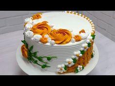Icing Cake Design, Cake Decorating Frosting, Cake Decorating Designs, Cake Decorating For Beginners, Creative Cake Decorating, Cake Decorating Videos, Birthday Cake Decorating, Cake Decorating Techniques, Creative Cakes