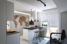 ideia-decoração-cozinha-americana. Snigeri é uma residência projetada pela Geometrium