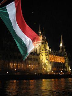 Parliament Building, Budapest (Via travelhereandthere.Tumblr.com) Hungarian Flag, Austro Hungarian, Travel Chic, Us Travel, Hungary Travel, Flag Colors, Budapest Hungary, Walking Tour, Czech Republic