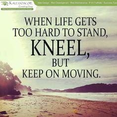 Keep on moving..!!
