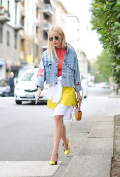 Yellow and Orange Street Style: 33 Ways to Dress Like Actual Sunshine | StyleCaster