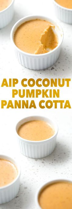 AIP (which means dairy, soy, nut and refined sugar free) coconut panna cotta. Perfect for healthy holidays! This recipe is allergy friendly (gluten, dairy, shellfish, nut, egg, and soy free) and suits the autoimmune protocol (AIP) and paleo diets.