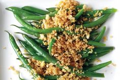 Green Beans with Spiced Breadcrumbs from Martha Stewart