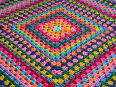 Hey, I found this really awesome Etsy listing at https://www.etsy.com/listing/118415750/crochet-afghan-blanket-harlequin