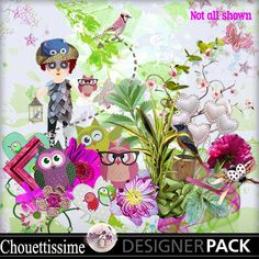 Chouettissime by ScrapTalou Design http://www.mymemories.com/store/display_product_page?id=STCM-CP-1609-112663