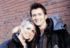 Billie Piper and David Tennant. Excuse me while I go explode into rainbows. <== LOL this made me laugh! Gonna have to start using that phrase!  =)