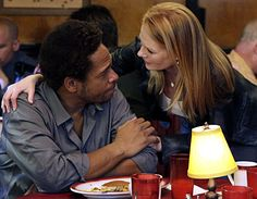 """CSI: Crime Scene Investigation - Season 8 Finale, """"For Gedda"""" - Gary Dourdan as Warrick, Marg Helgenberger as Catherine.The team investigates the murder of a man who was stuffed in an occupied coffin. The victim ends up being someone Warrick is familiar with. Then the police discover Warrick covered in blood with a dead Lou Gedda next to him. Warrick can't remember what happened. First shown on May 15th 2008"""