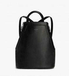 CHANDA - BLACK. Modern Backpack. Matt and Nat.