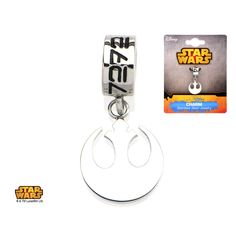 Half Inch Stainless Steel Star Wars Rebel Alliance Charm