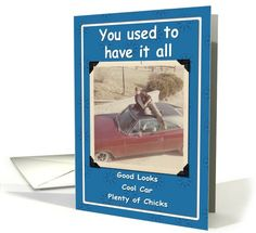 Cool Dude Birthday - FUNNY card