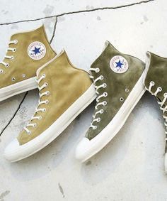 BEAUTY   YOUTH Puts a Premium Spin on the Chuck Taylor All Star  The  Japanese stalwart brings luxurious suede construction to Converse s classic  high-top. 2631489a7