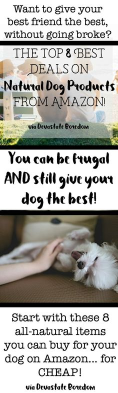 I've been wanting to try to switch to natural pet products!  This is perfect…