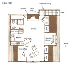 Guest house over garage on pinterest garage apartments for Studio above garage plans