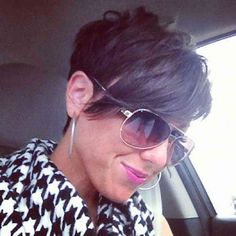 Favorite Pixie Hairstyles Ideas (growing out short hair styles over Pixie Hairstyles, Pixie Haircut, Pretty Hairstyles, Haircuts, Love Hair, Great Hair, Short Hair Cuts, Short Hair Styles, Pixie Cuts