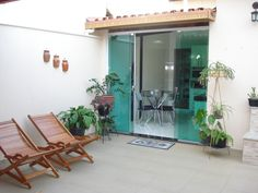 Área de lazer gourmet Lofts, Covered Walkway, Terrace Design, Eco Friendly House, Outdoor Furniture Sets, Outdoor Decor, Simple House, My Dream Home, My House