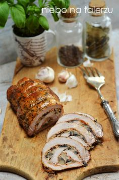 Roast recipe for the holidays. How to make a roulade of pork? - heaven on a plate Roast Recipes, Cooking Recipes, Polish Recipes, I Foods, Food To Make, Food And Drink, Yummy Food, Meals, Dishes