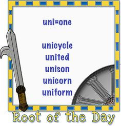 Reading Olympians: Root of the Day