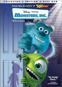I love this movie! (Monster's University was also good:) they just bring back childhood memories.