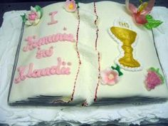 tort komunijny Cake, Desserts, Food, Pie Cake, Meal, Cakes, Deserts, Essen, Hoods