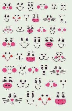 Caras animalitos