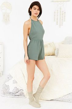 Out From Under Savannah Romper - Urban Outfitters