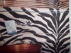 Custom zebra dresser. Animal Print Furniture, Animal Print Rug, Teen Decor, Tween, My Arts, Decor Ideas, Animals, Home Decor, Animales