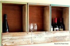 Drawer Bar/Shelf http://bec4-beyondthepicketfence.blogspot.com/2012/04/drawer-barshelf.html
