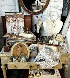 Hello blog friends! Today I will be sharing the updates I have made to my antiques booth where you can find lots of junky chic treasures.   ...