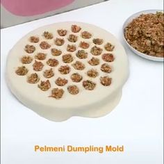 ✨Chinese traditional cuisine – dumplings✨ 🥰You only need a simple gadget to make it, and enjoy this food with your family! ✨Chinese traditional cuisine – dumplings✨ 🥰You only need a simple gadget to make it, and enjoy this food with your family! Dessert Party, New Recipes, Cookie Recipes, Elegante Desserts, Cream Cheese Cookie Recipe, Homemade Dumplings, Keto Cream, Cooking Gadgets, Kitchen Gadgets