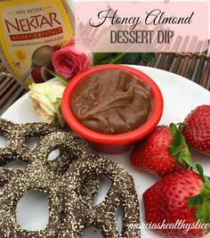Valentine's Day Nektar Naturals Honey Almond Dessert Dip