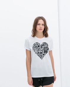 Image 3 of PRINTED T-SHIRT from Zara